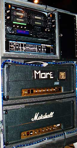 reb's amps and rack from the whitesnake 2004 tour