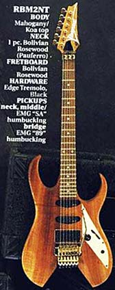 voyager ibanez catalogue feature